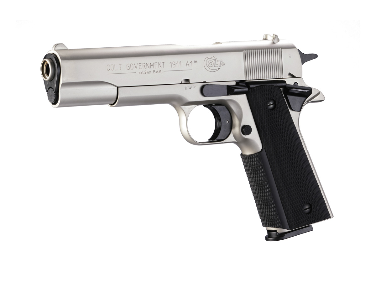 Colt Government 1911 A1 хром-никел