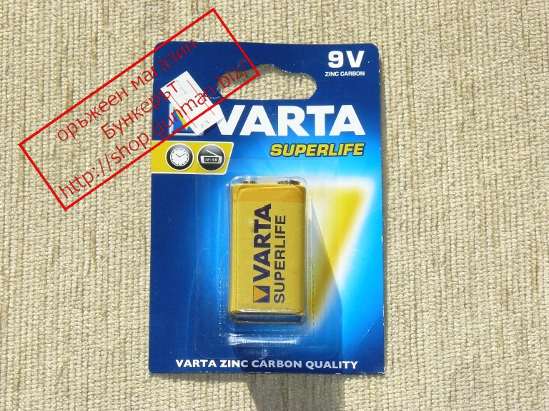 Varta 9V superlife